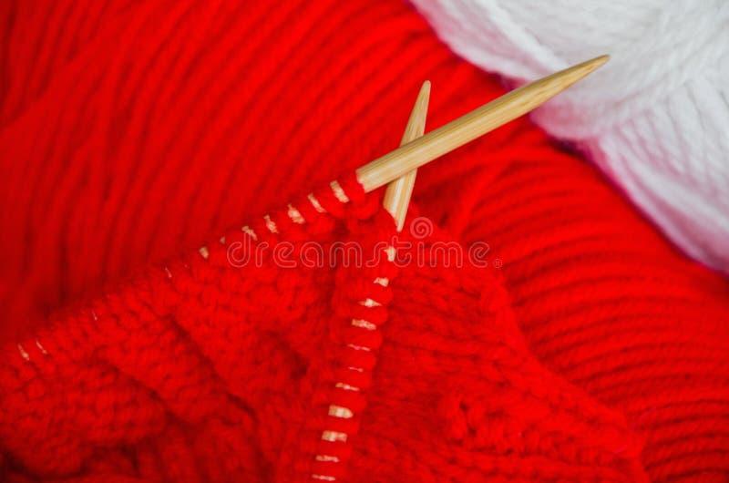 Download Knitting stock image. Image of white, craft, handcraft - 27327947