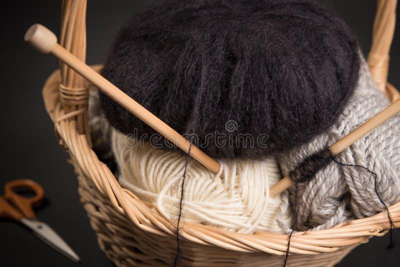 knitting fotografia stock libera da diritti