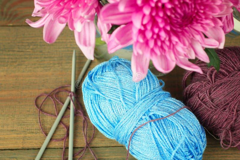Download Knitting foto de archivo. Imagen de detalle, fibra, viejo - 64208520