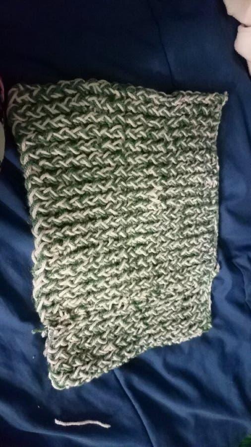 knitting fotografia stock