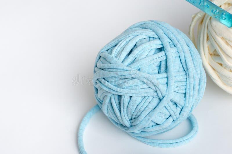 Knitting crafts. Skeins of yarn knitting crochet stock photography