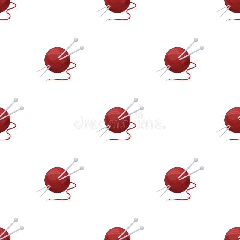 knitting Oude dag enig pictogram in van de het symboolvoorraad van de beeldverhaalstijl vector de illustratieweb vector illustratie