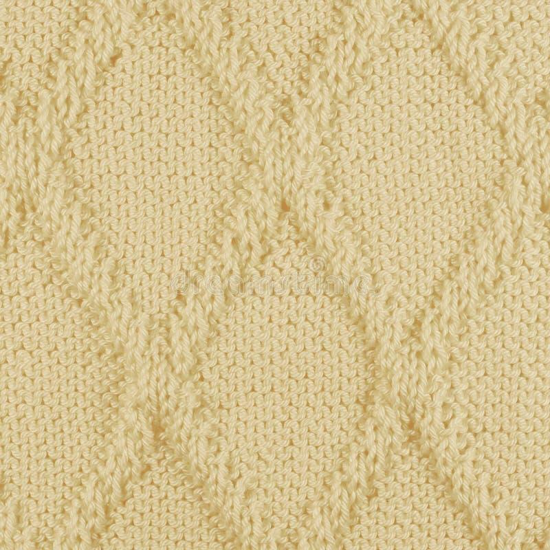 Knitting pattern stock image. Image of beige, wool, white - 30927591