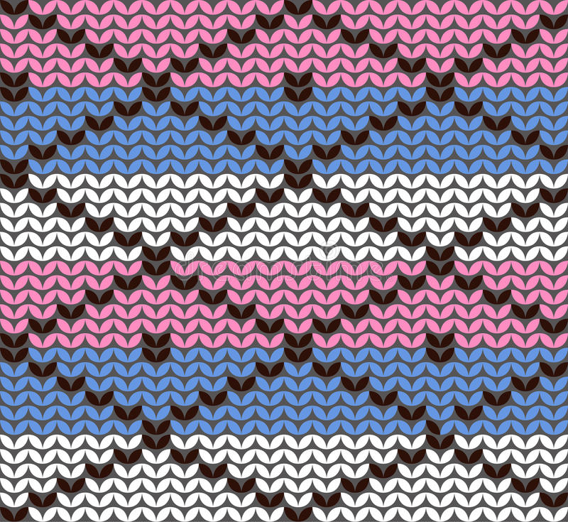 Download Knitting Pattern With Rhombuses Stock Image - Image: 29063061
