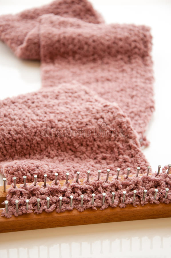 Download Knitting scarf stock image. Image of classic, close, decoration - 26467853