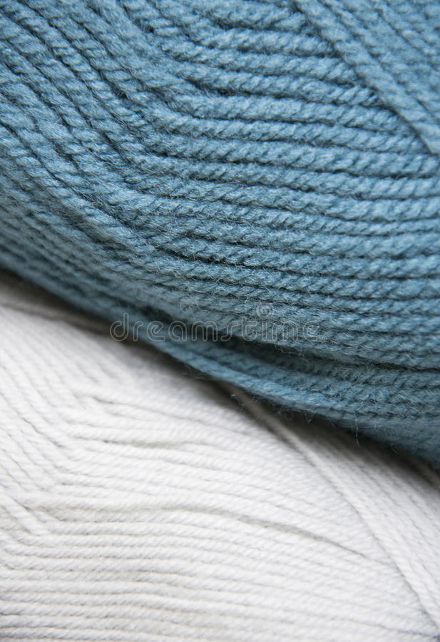 Knitting yarn skeins. Colorful yarn skeins for abstract background stock images