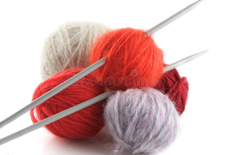 knitting11 arkivfoto