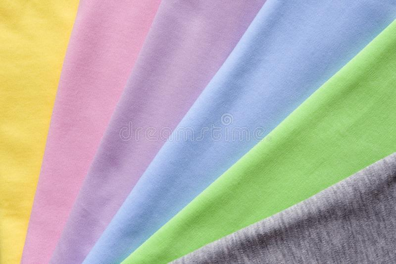 Knitwear riban colorurs obrazy royalty free