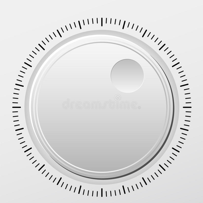 Download Knob stock vector. Image of technology, audio, design - 14021364