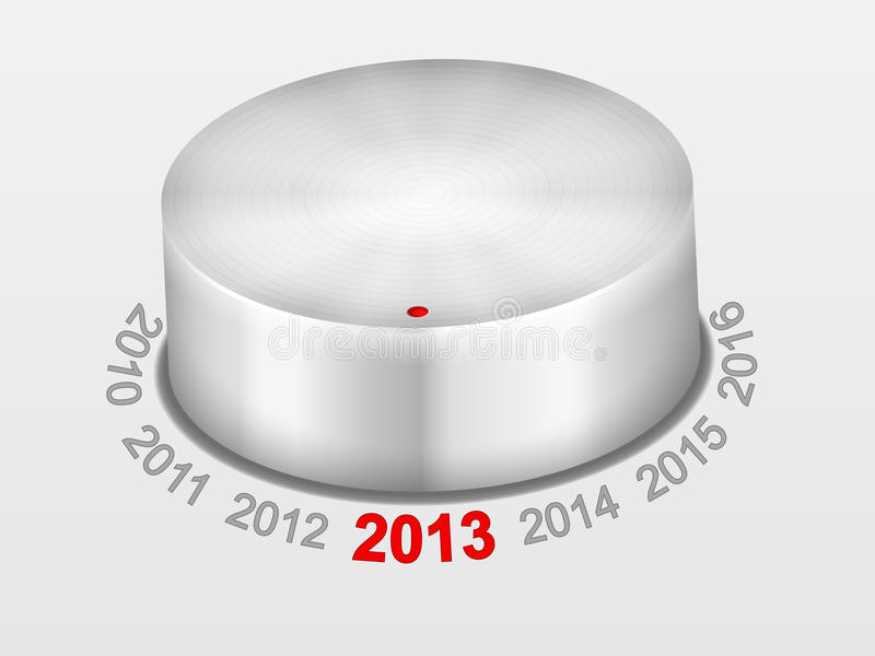 Knob New Year Stock Images