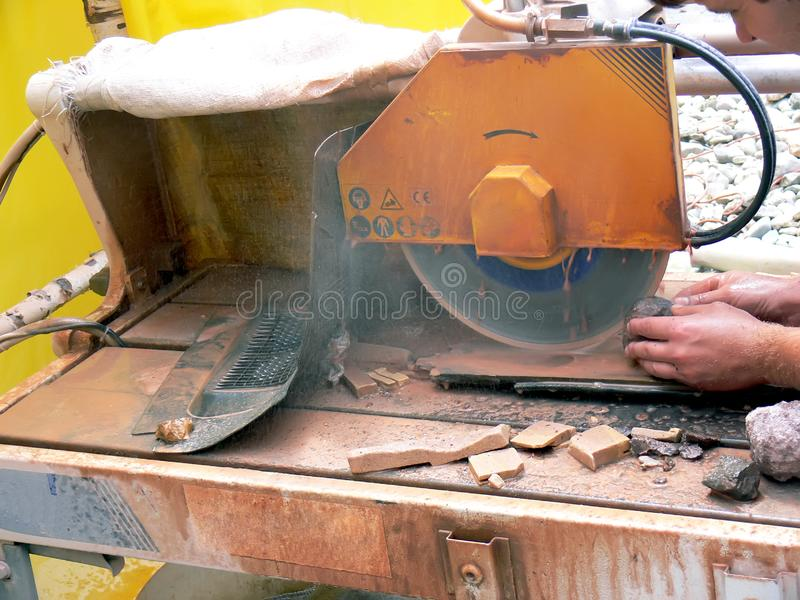 Download The knobbling stock photo. Image of grinder, cutting, heavy - 5883726