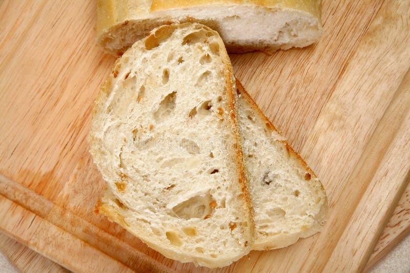 Knoblauch-Brot-Laib stockfotos