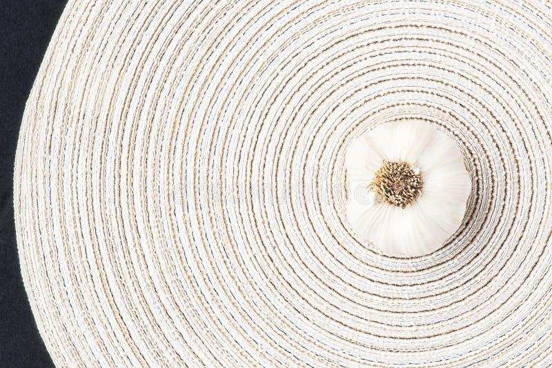 Knoblauch, frisches organisches stockfoto