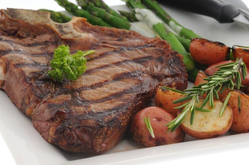 Knochen-Steak stockfotografie