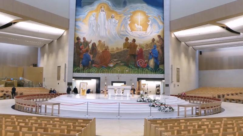 Knock Basilica. Knock, County Mayo, Ireland, royalty free stock photography