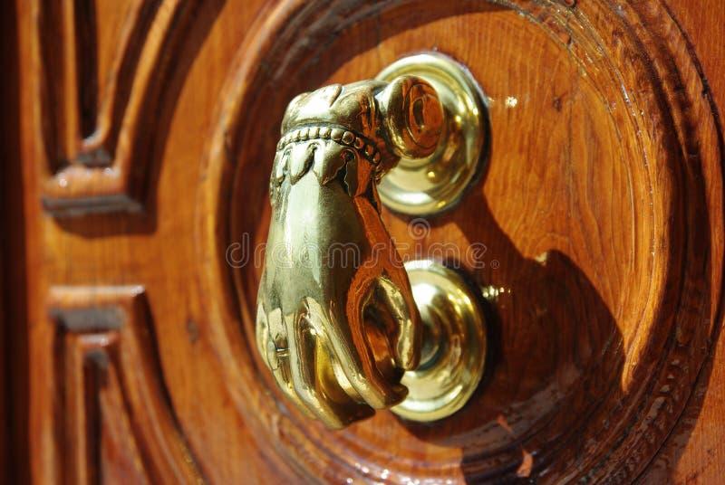 Knock it! royalty free stock photo