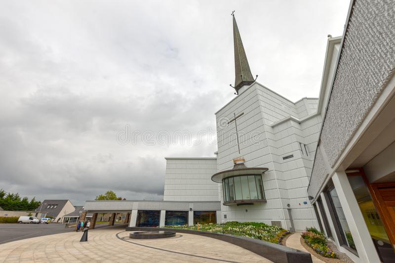Knock, Mayo, Ireland. Ireland`s National Marian Shrine in Co Mayo, visited by over 1.5 million people each year. Knock Shrine. Knock, Mayo, Ireland - July 17th royalty free stock photography