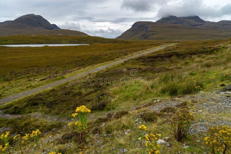 Knockan碎片在苏格兰 免版税库存图片