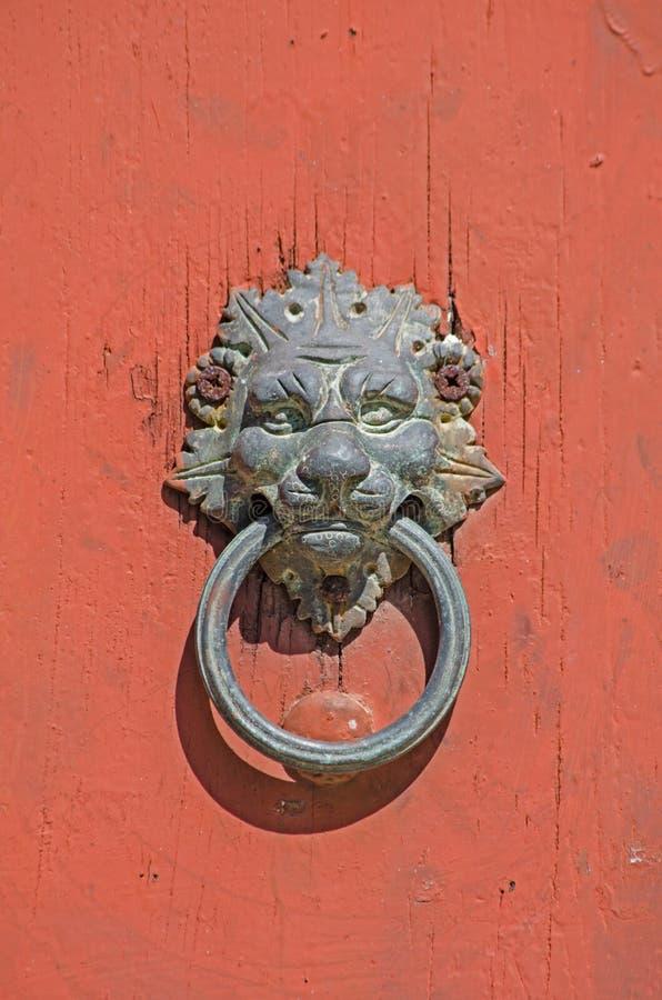 Knocker двери стоковое фото rf