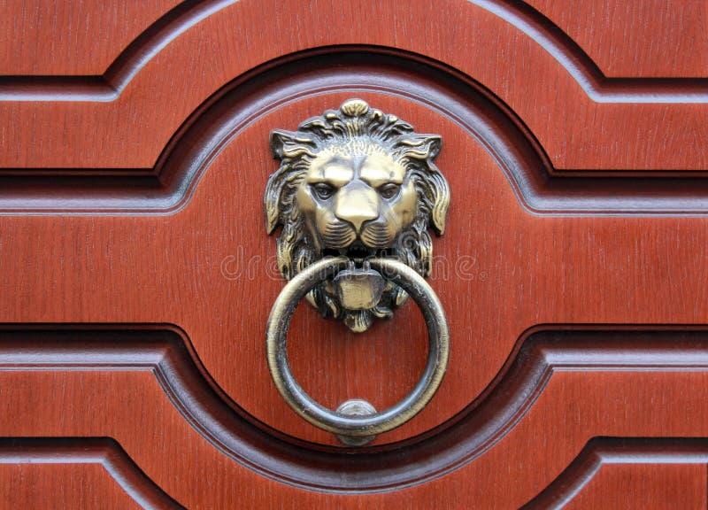 Knocker двери стоковые изображения