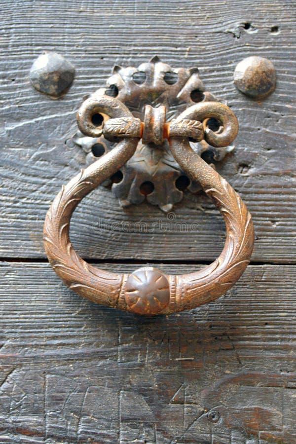 Knocker на двери стоковая фотография rf