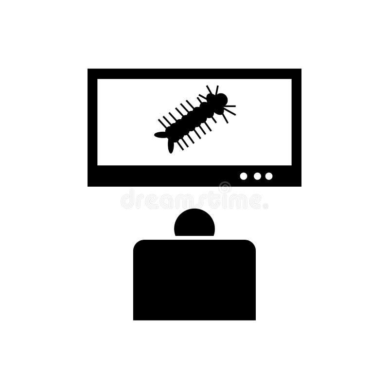 Knokkelkoorts, zika, campagnepictogram Element van aedes mug en knokkelkoortspictogram Grafisch het ontwerppictogram van de premi vector illustratie