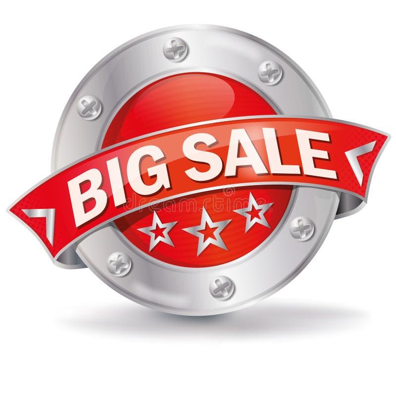 Knoop grote verkoop royalty-vrije illustratie
