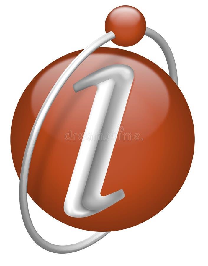 Knoop i geïsoleerdei info van het informatieonderzoek teken vector illustratie