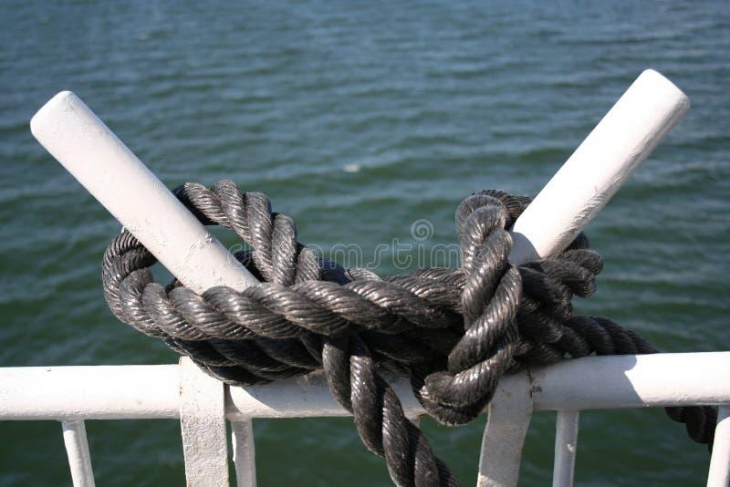 Knoop op een schip royalty-vrije stock foto