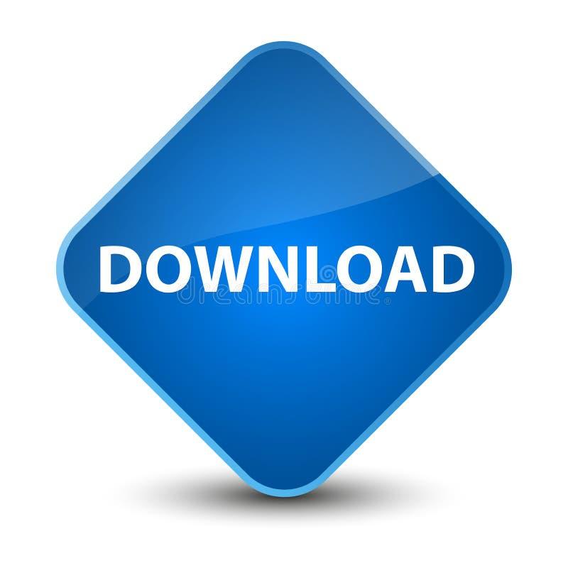Knoop van de download de elegante blauwe diamant stock illustratie