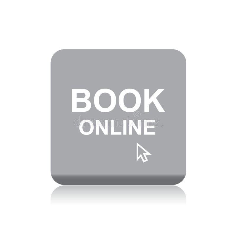 Knoop van het boek de online Web royalty-vrije illustratie