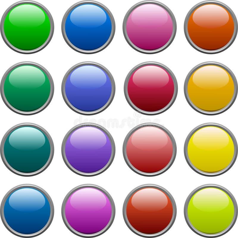 Knopen. vector illustratie
