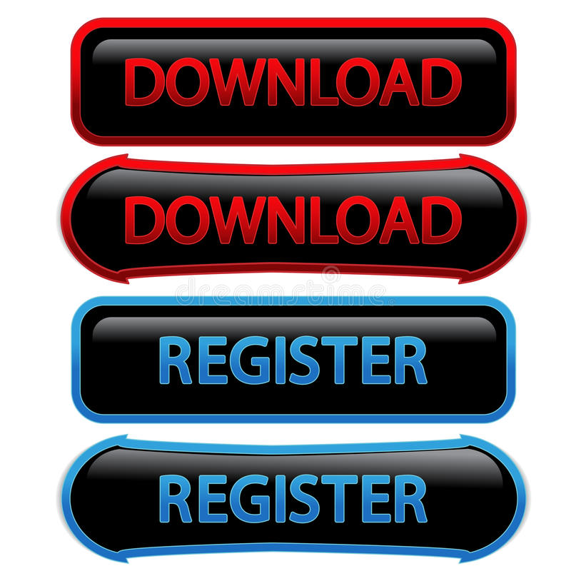 Knopen - download, register royalty-vrije illustratie