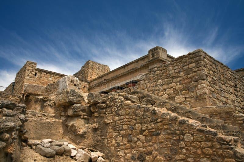 Knossos, археологическое место, Крит, Греция стоковые изображения