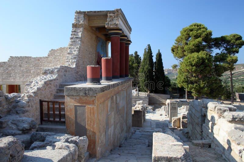 Knossos images libres de droits