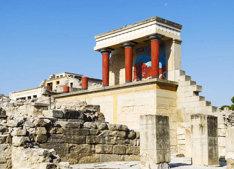 Knossos images stock