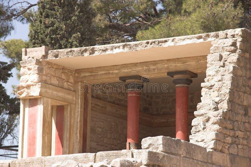 Knossos foto de archivo