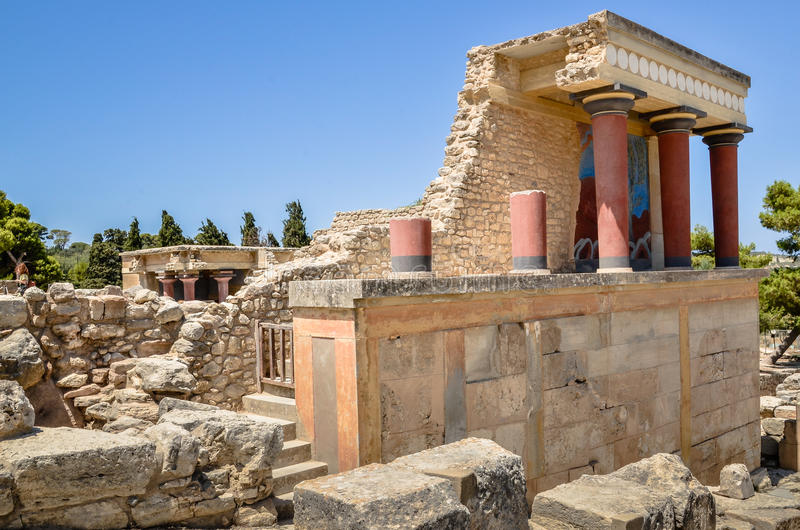 Knossos palace the ceremonial and political centre editorial stock download knossos palace the ceremonial and political centre editorial stock image image of ancient sciox Images