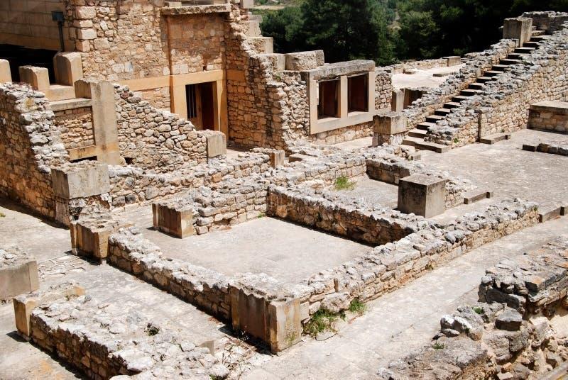 Knossus (Crète) photo libre de droits