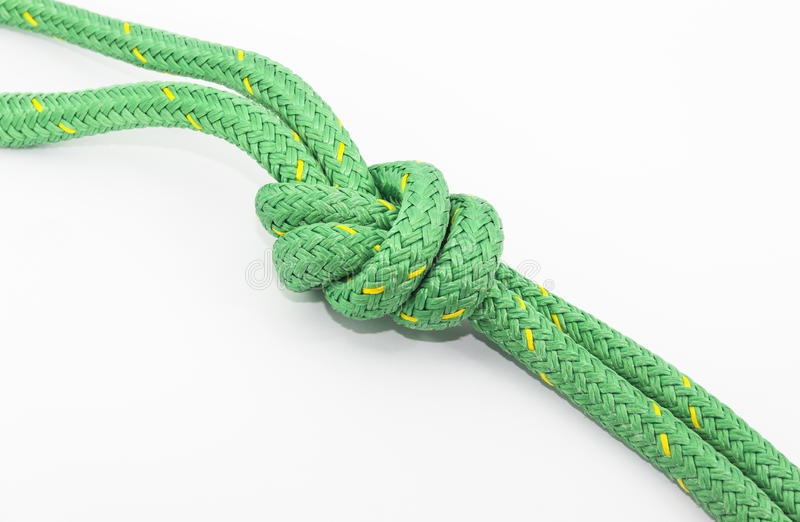 Download Knot stock image. Image of nautic, green, tying, abstract - 28943955