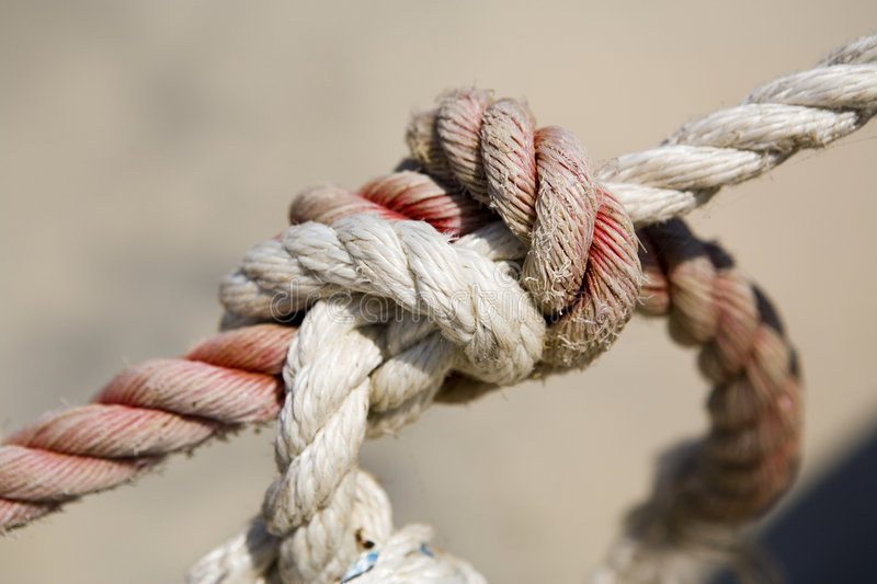Download Knot stock image. Image of cord, strong, tension, line - 6862299
