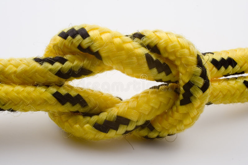 Download Knot with clipping path stock photo. Image of rope, climbing - 861396