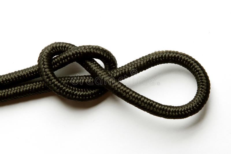 Download Knot in rope stock image. Image of knot, close, macro - 22710923