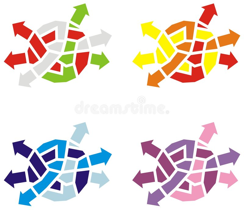 Download Knoten 1 vektor abbildung. Illustration von violett, muster - 9084293