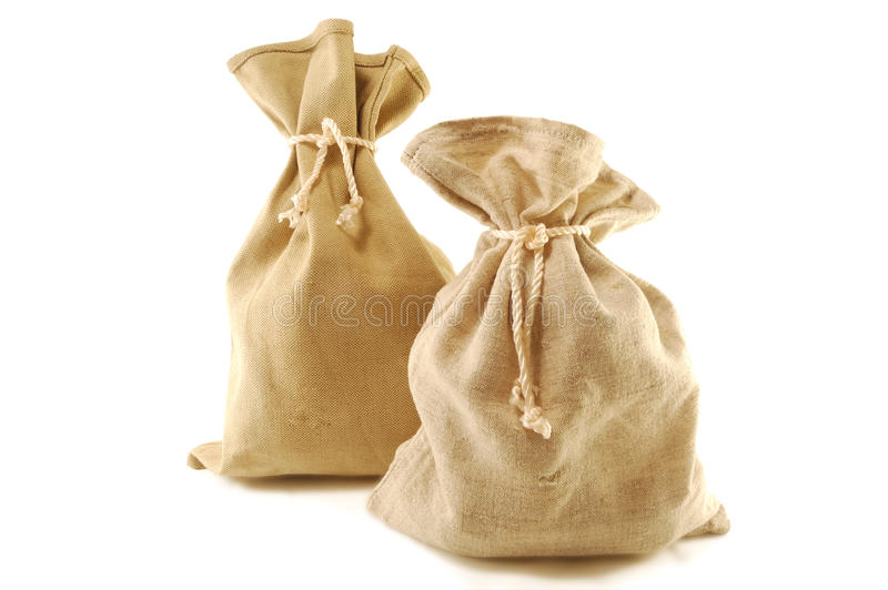Download Knotted bag stock image. Image of unique, beige, loop - 17875799