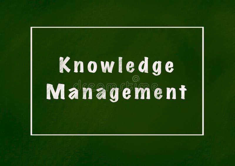 Knowledge management vector illustration