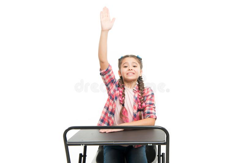 Knowledge is richness. Back to school. Private school concept. Individual schooling. Elementary school education. Enjoy royalty free stock photo