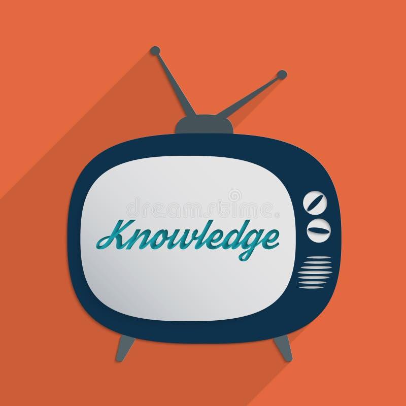 Knowledge sharing stock illustration