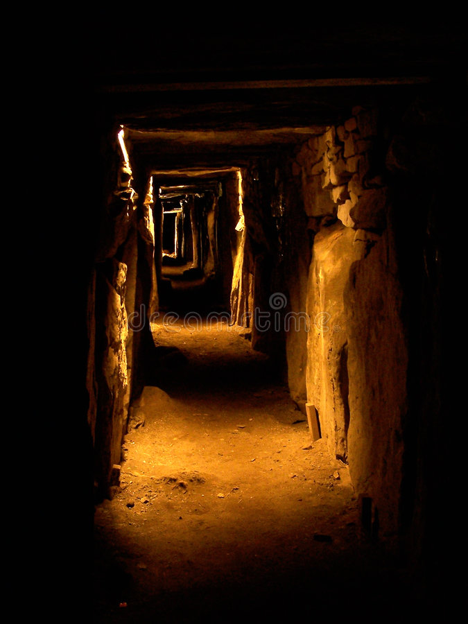 Download Knowth Passage Tomb stock image. Image of prehistoric - 3969959
