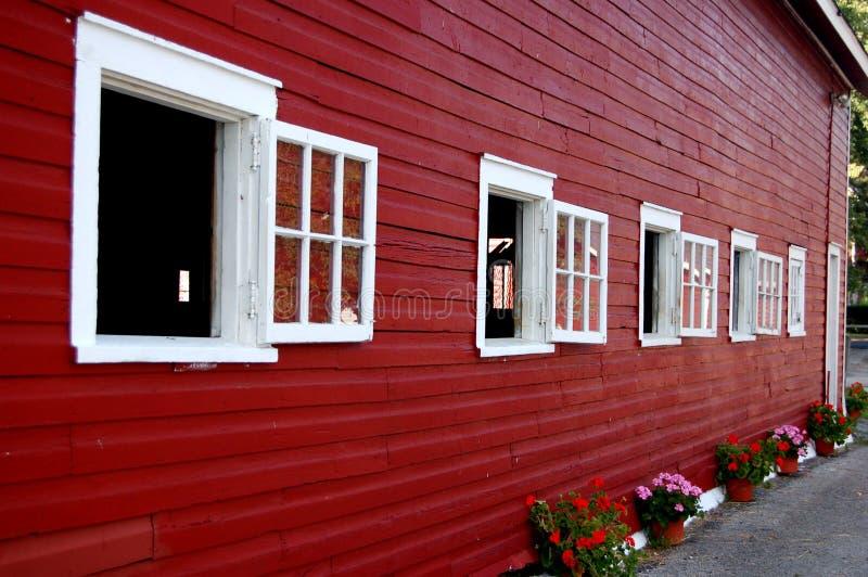 Knox Bauernhof-Seite Windows stockfotos